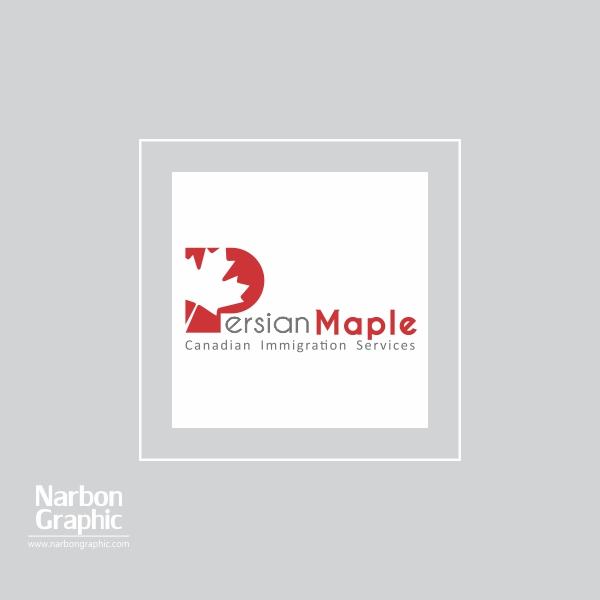 طراحی لوگو پرشین میپل