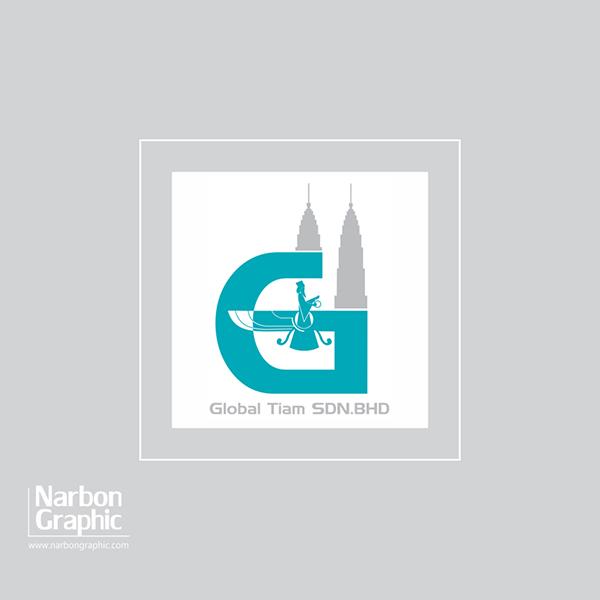طراحی لوگو گلوبال تیام